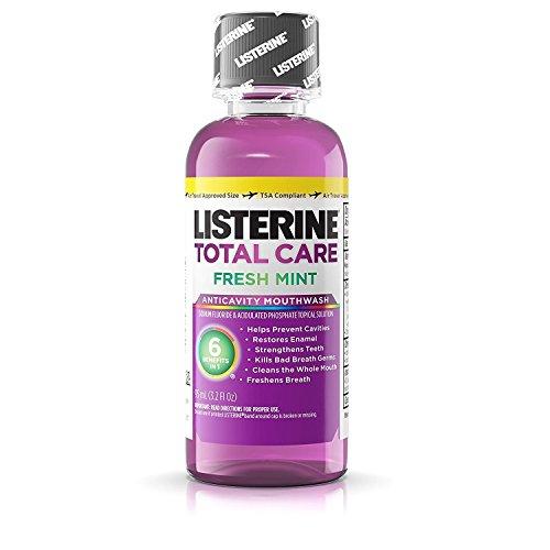 Listerine - Listrn Tot Frsh Mnt Size 3.2z Listerine Total Care Fresh Mint Mouthwash
