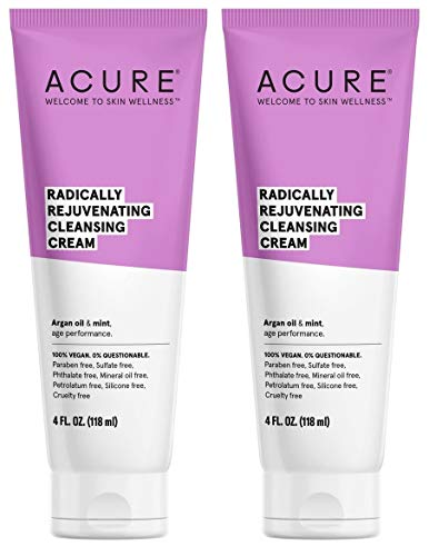 Acure - Organic Mint and Argan Oil Facial Cleansing Creme