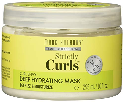 Marc Anthony - Marc Anthony Strictly Curls Deep Hydrating Mask 10 Ounce Tub, Deep Hydration Treatment for Curly Hair