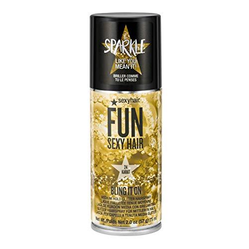 Sexyhair SexyHair Fun Bling It On 24 Karat Medium Hold Glitter Hairspray
