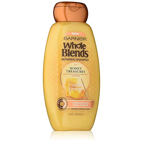 Garnier - Garnier Whole Blends Shampoo Honey Treasures 12.5 Ounce (370ml) (6 Pack)