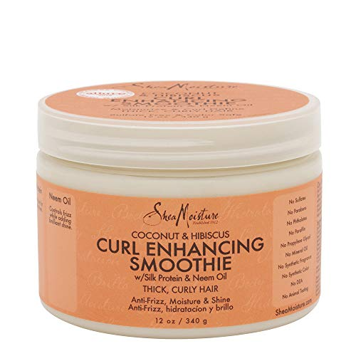 Sheamoisture - Shea Moisture Coconut & Hibiscus Curl & Style Milk 8 Ounce (235ml) (3 Pack)