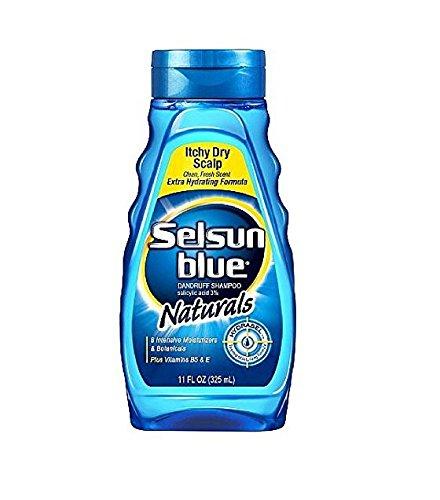 Selsun Blue - Shampoo Naturals Dandruff Itchy Dry Scalp