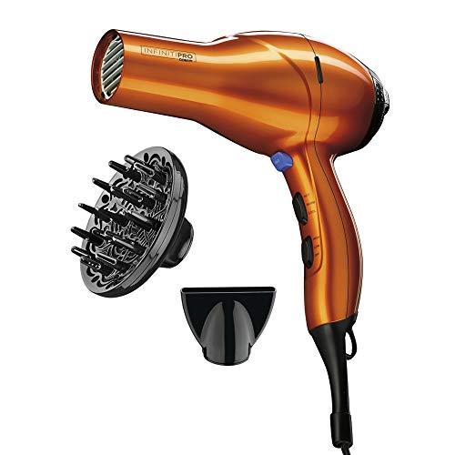 Conair - INFINITIPRO BY CONAIR 1875 Watt Salon Performance AC Motor Styling Tool/Hair Dryer; Orange
