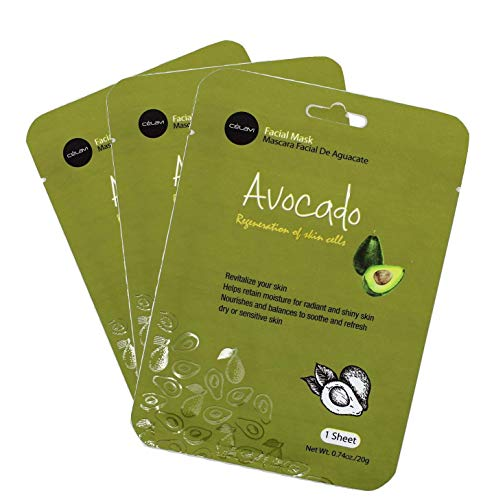 Avocado - Wholesale FACIAL MASK AVOCADO #MK007