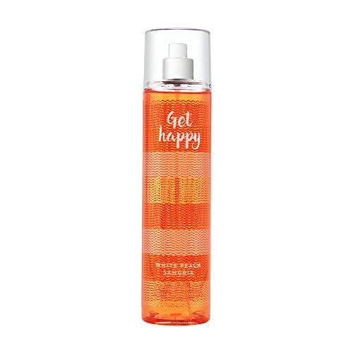 Bath & Body Works - Bath & Body Works Fine Fragrance Mist Get Happy White Peach Sangria