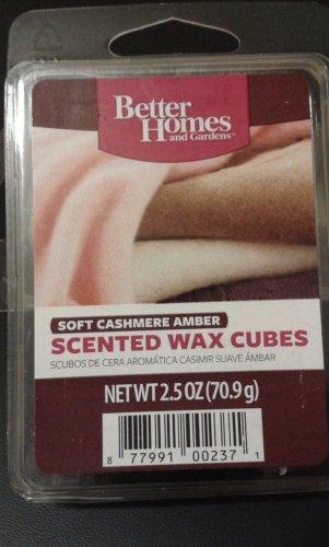 Better Homes & Gardens Better Homes Wax Cubes - Soft Cashmere Amber