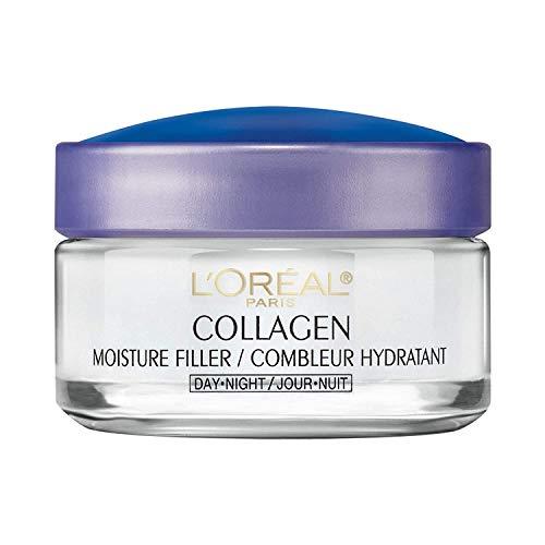 L'Oreal Paris - Dermatologist-tested L'Oreal Paris Collagen Moisture Filler Anti Aging Night Face Cream, 1.7 oz.