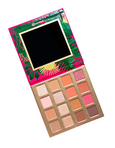 BH Cosmetics - 16 Color Eyeshadow Palette, Hanging Hangin' In Hawaii
