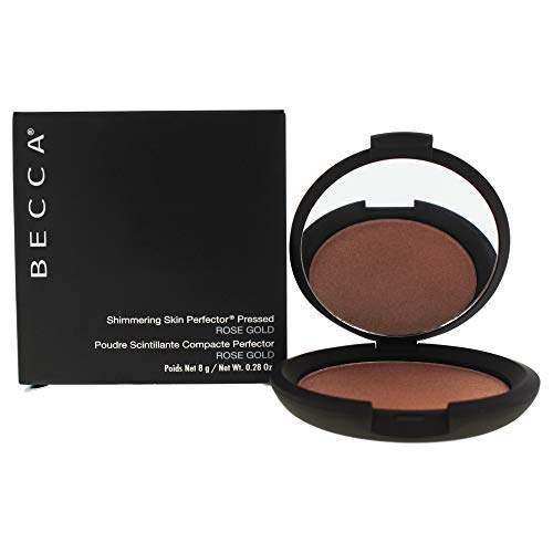 Becca Shimmering Skin Perfector Pressed ROSE GOLD, 0.28 oz. - Shimmering Skin Perfector Pressed Powder - # Rose Gold