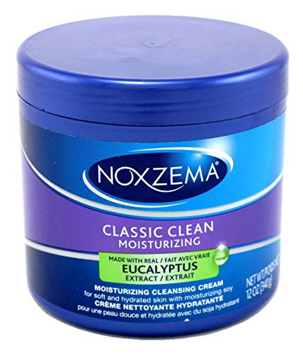Noxzema - Noxzema Classic Clean Moisture Cleansing Cream 12 Ounce Jar (354ml) (2 Pack)