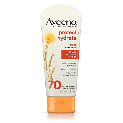 Aveeno - AVEENO Active Naturals Protect + Hydrate Lotion Sunscreen SPF 70 3 oz