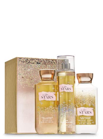 Bath & Body Works - Bath and Body Work IN THE STARS Glamorous Gift Box Set - Body lotion - Fine Fragrance Mist and Shower Gel