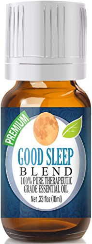 Healing Solutions - Good Sleep at Night Essential Oil - 100% Pure, Best Therapeutic Grade - 10ml - Includes Clary Sage, Copaiba and Lavender
