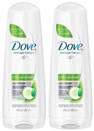 Dove - Dove Conditioner 12 Ounce Cool Moisture Nutritive Solutions (354ml) (2 Pack)