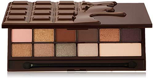 Makeup Revolution - Makeup Revolution Eyeshadow Palette, Rose Gold Chocolate Bar