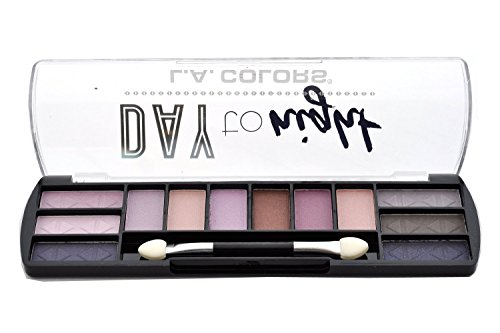L. A. Colors - Day to Night Eyeshadow Palette, Dusk