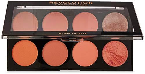 Makeup Revolution - Makeup Revolution Ultra Blush and Contour Palette, Hot Spice