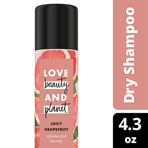 Love, Beauty & Planet - Love Beauty and Planet Volumizing Spray Juicy Grapefruit Dry Shampoo 4.3 oz