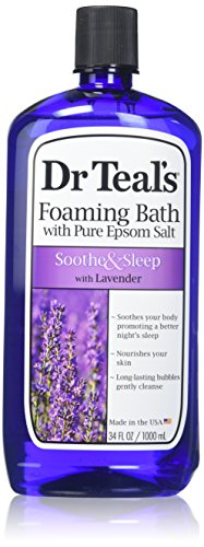 Dr Teal'S - Dr. Teal's Foaming Bath, Lavender, 34 Fluid Ounce,Pack of 2