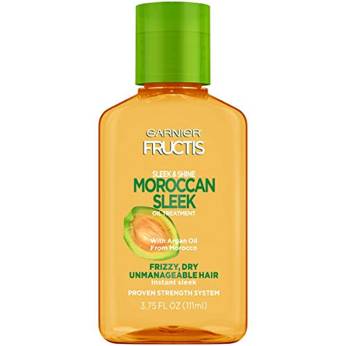 Garnier - Garnier Fructis Sleek & Shine Moroccan Sleek Oil Treatment, Frizzy, Dry Hair, 3.75 fl. oz.