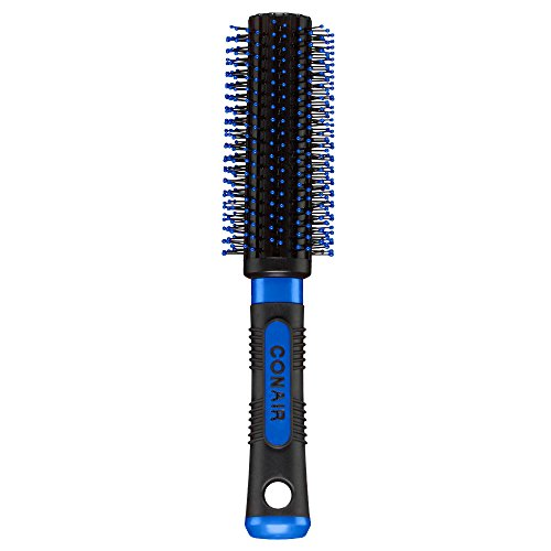 Conair - Conair Pro Hair Brush with Nylon Bristle, Round, Full