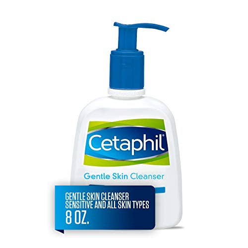Cetaphil - Gentle Skin Cleanser for All Skin Types, Face Wash for Sensitive Skin, 8 oz. Bottle