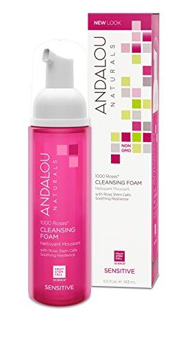 Andalou Naturals - Andalou Naturals 1000 Roses Cleansing Foam, 5.5 Ounce