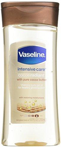 Vaseline - Vaseline Total Moisture Cocoa Radiant Body Gel Oil - 6.8 oz - 2 pk