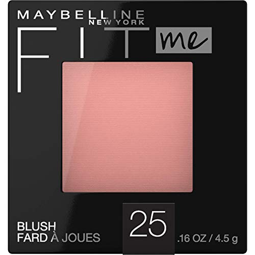 Maybelline New York - Maybelline Fit Me Blush, 25 Pink, 0.16 oz (Pack of 2)