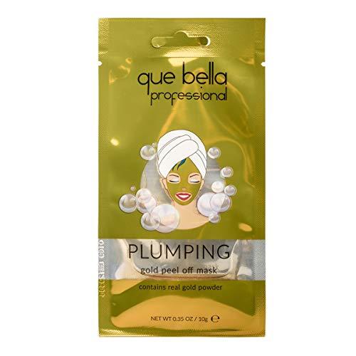 Que Bella - Que Bella Professional Plumping Gold Peel Off Face Mask - 0.33oz