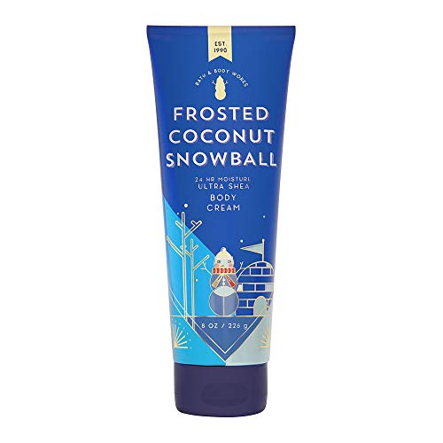 Bath & Body Works - Bath & Body Works Frosted Coconut Snowball Ultra Shea Body Cream, 8 Ounce