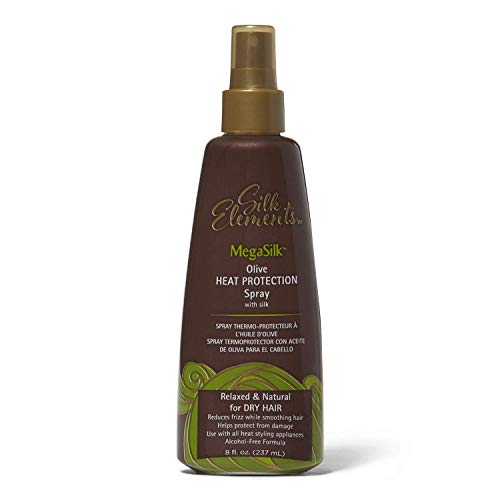 Silk Elements - Silk Elements Megasilk Olive Heat Protection Spray - 8oz
