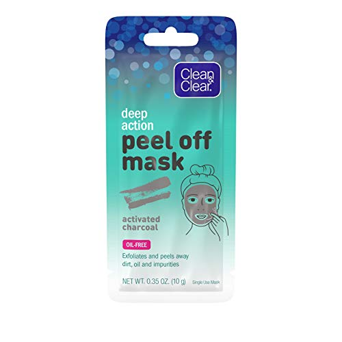 Clean & Clear - Deep Action Cleansing & Exfoliating Peel Off Face Mask with Activated Charcoal