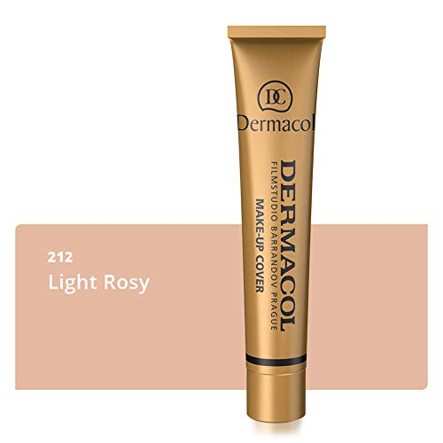 Dermacol - Dermacol Make-up Cover - Waterproof Hypoallergenic Foundation 30g 100% Original Guaranteed from Authorized Stockists (212)