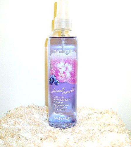 Avon - Naturals Vibrant Orchid & Blueberry Body Spray 8.4 fl. oz.