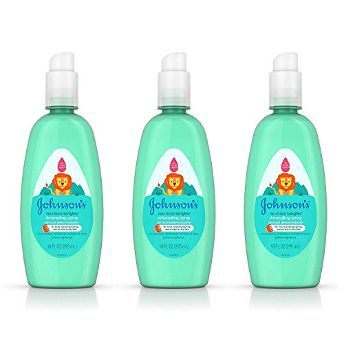 Johnson's - Johnson's Baby No More Tangles Tear Free Toddler & Kids Detangling Spray Paraben Free, 10 Fluid Ounce