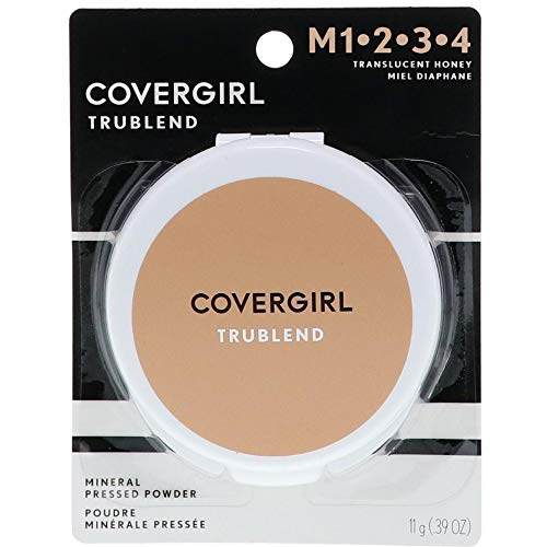 Covergirl - CoverGirl Trublend Pressed Powder, Translucent Honey 3, 0.39-Ounce Packages (Pack of 2)