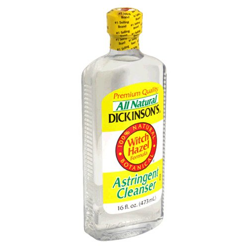 Dickinson - Dickinson's Astringent Cleanser, Witch Hazel Formula, 16-Ounce Bottles (Pack of 6)