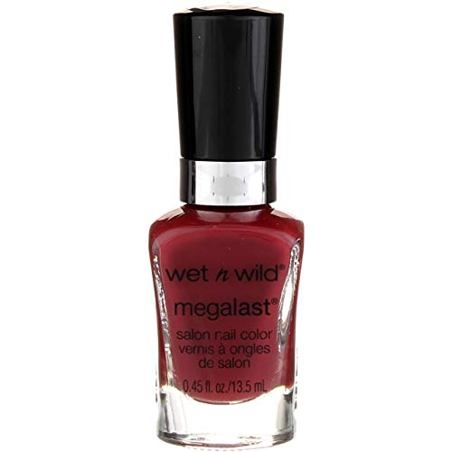 Wet N' Wild Wet n Wild MegaLast Salon Nail Color, Haze Of Love 0.45 oz (Pack of 3)