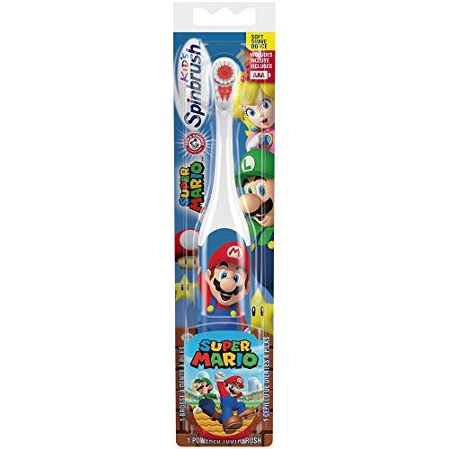 Spinbrush - ARM & HAMMER Kid's Spinbrush Powered Toothbrush, Super Mario 1 ea