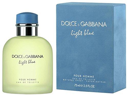 Dolce&Gabbana - D & G Light Blue By Dolce & Gabbana For Men, Eau De Toilette Spray, 2.5-Ounce Bottle