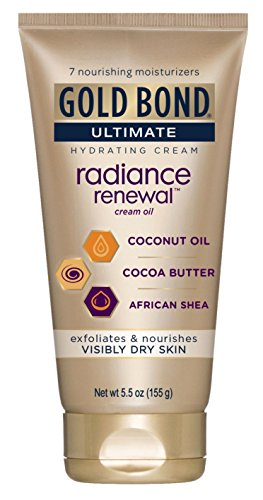Gold Bond - Gold Bond Ultimate Radiance Renewal Cream Oil, 5.5 Ounce (Pack of 2)