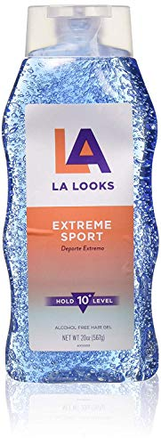 La Looks - LA Looks Extreme Sport Alcohol-Free Hair Gel | Level 10 Hold, 20 oz | 1-Unit (Pack of 3)