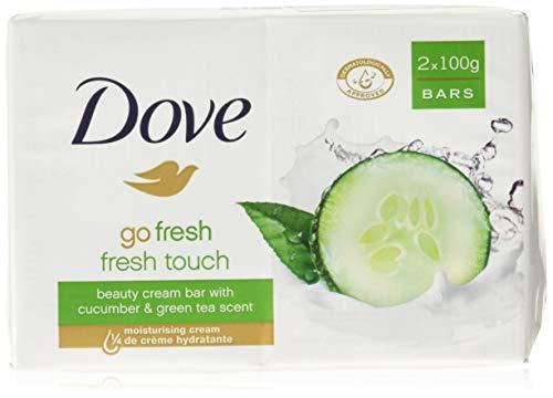 Dove - Dove Go Fresh Beauty Bar Soap, Cool Moisture-Fresh Touch, 100 G / 3.5 Oz (Pack of 12)