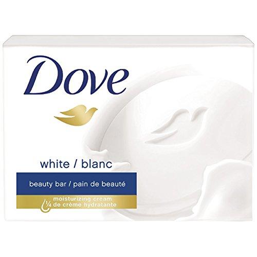 Dove - Dove Beauty Bar White 75 gr, 1 Bar