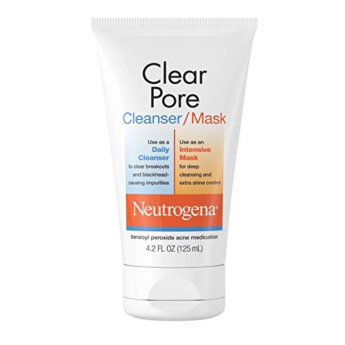 Neutrogena - Neutrogena Clear Pore Cleanser/Mask, 4.2 Fl Oz, Pack of 1