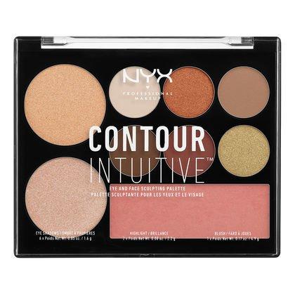 NYX - Contour Intuitive Palette, Warm Zone