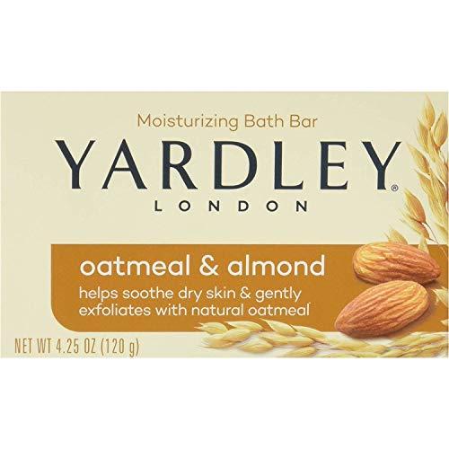 Yardley - Yardley Oatmeal and Almond Bar Soap, 4.25 Oz. 20 Bars