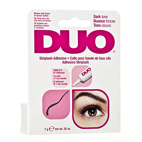 A.I.I. CLUBMAN - Duo Water Proof Eyelash Adhesive, Dark Tone 1/4 oz (Pack of 24)